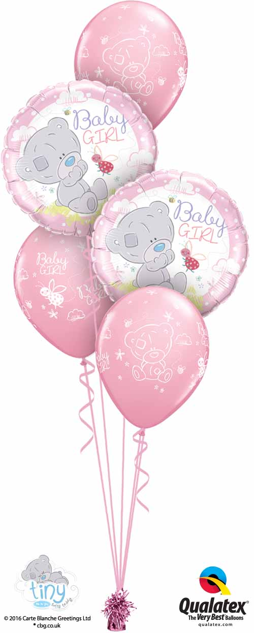 28170 45369 Tiny Tatty Teddy Baby Girl Classic