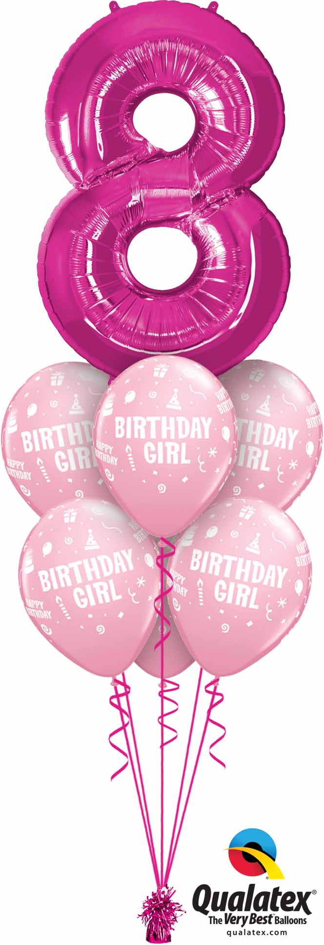 30596 17921 8th Birthday Girl Luxury