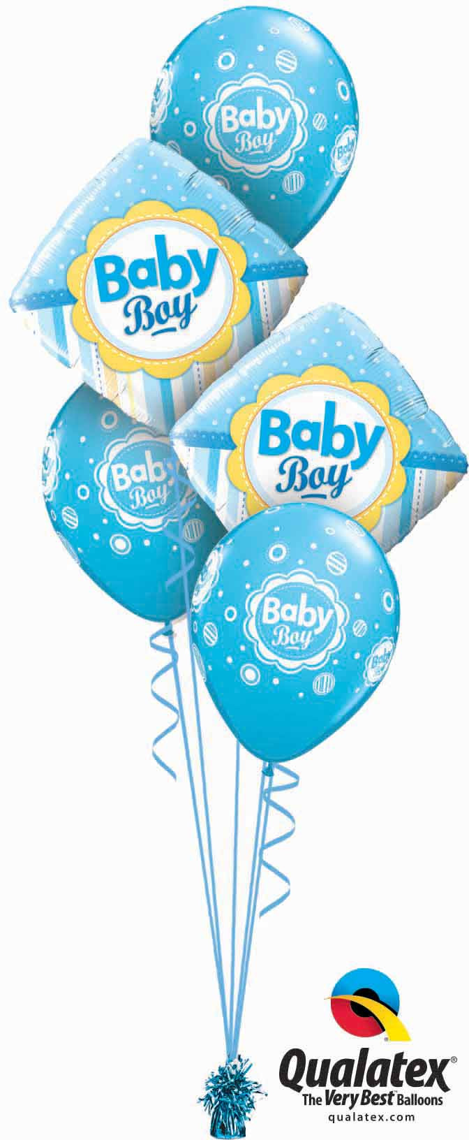 Baby Boy Dots & Stripes Classic