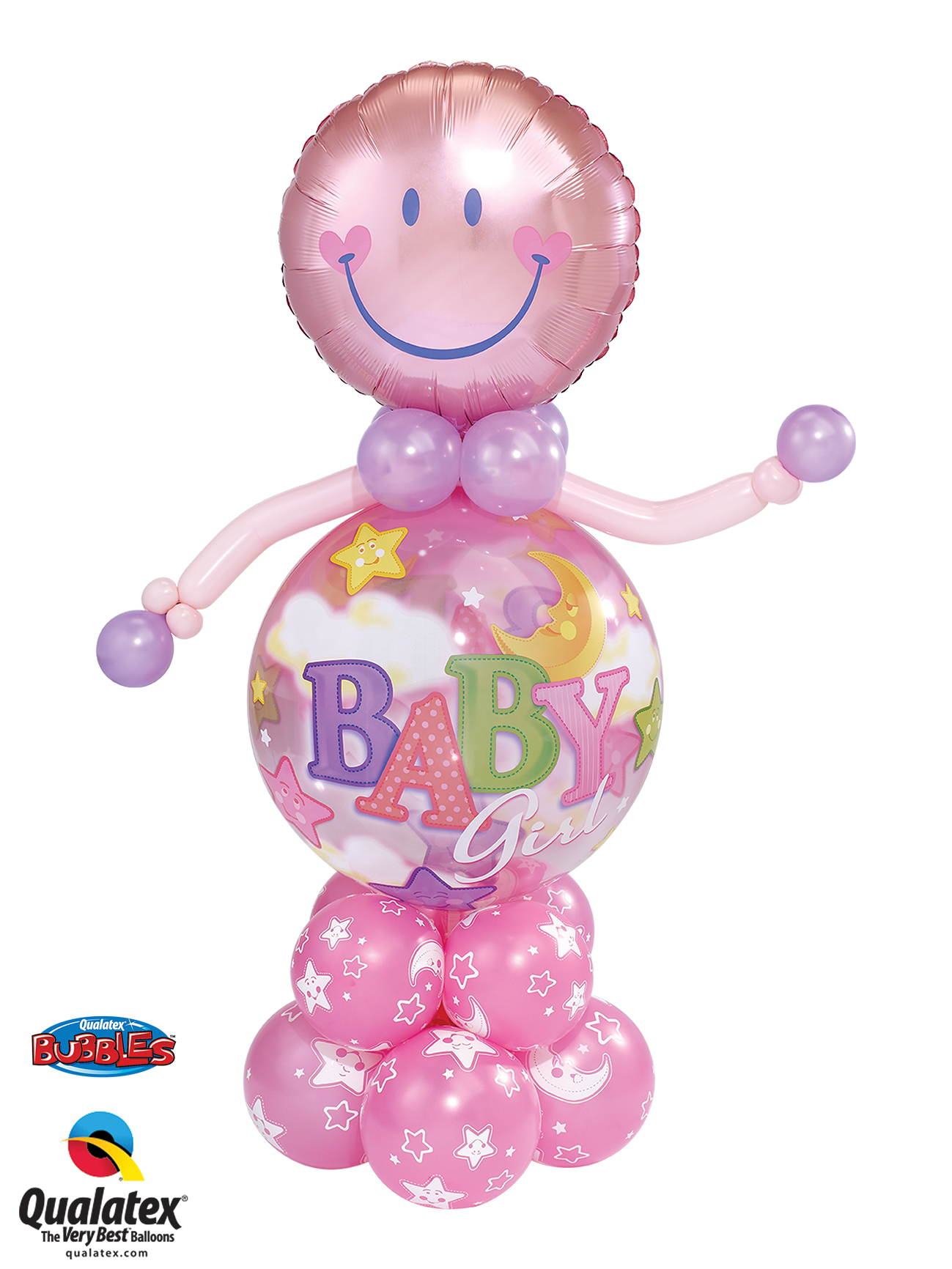 Baby Girl Bubble Buddy