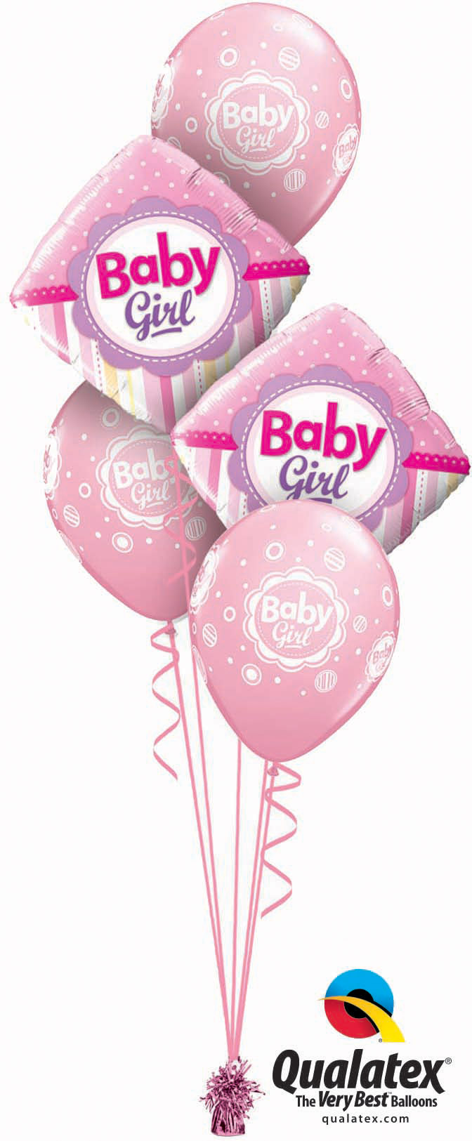 Baby Girl Dots & Stripes Classic