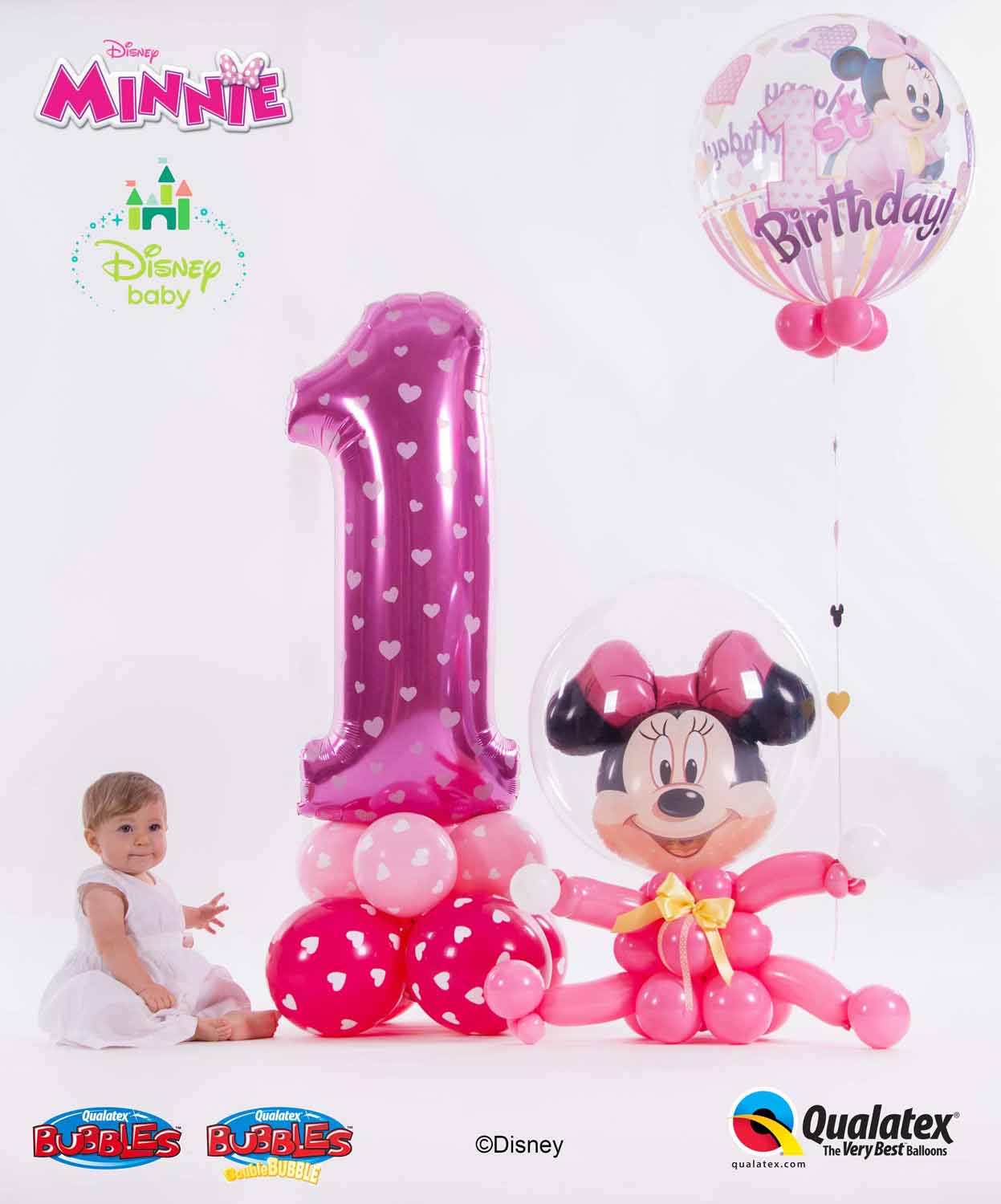 Disney Minnie Mouse 1st Birthday
