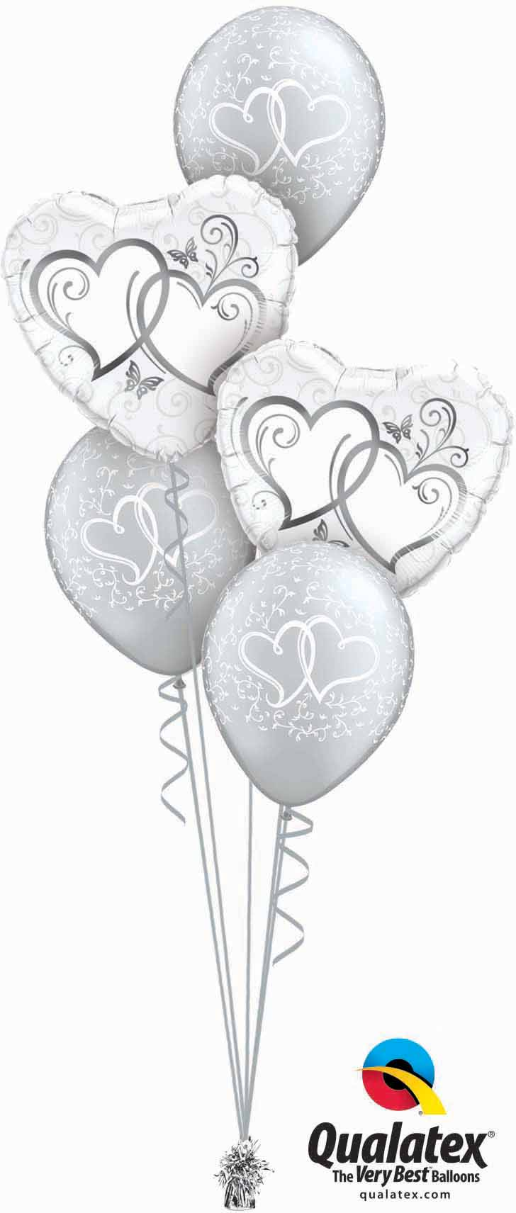 Entwined Hearts Silver Classic