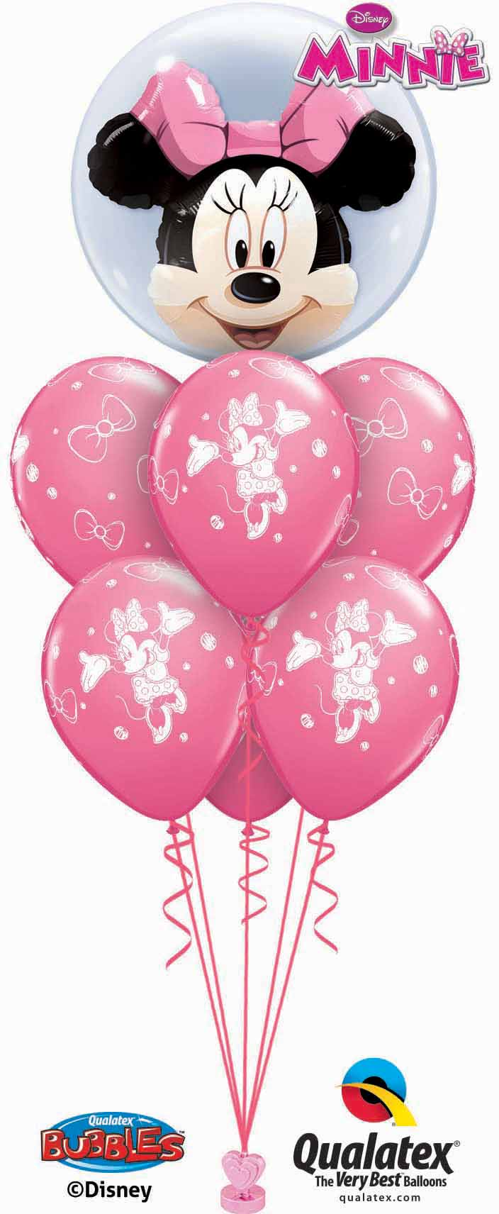 Minnie Mouse Double Bubble Luxury