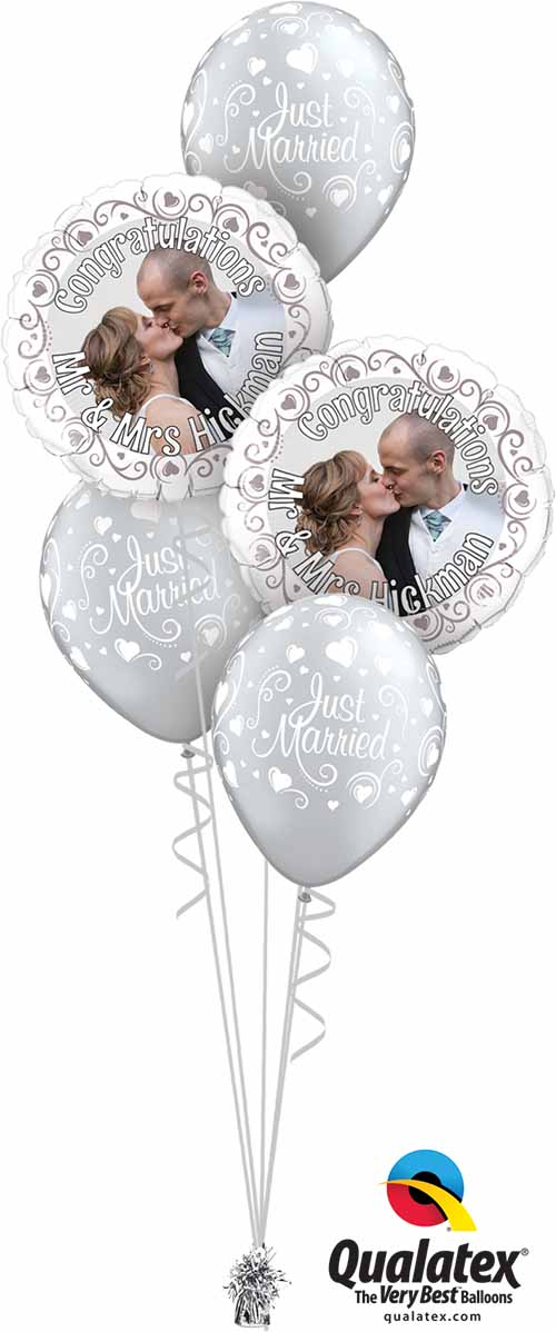 MyBalloon 19136 Anna & Dave Just Married