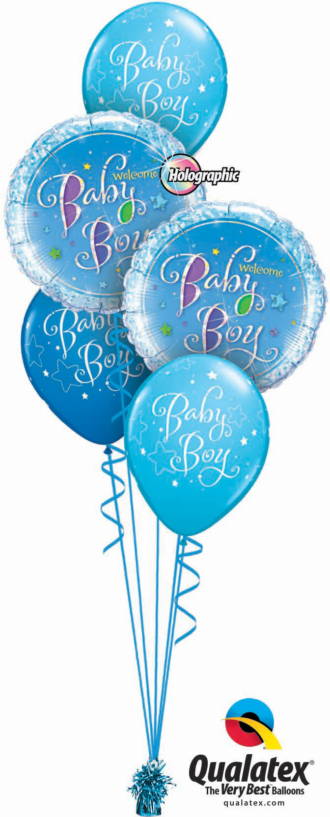 Welcome Baby Boy Classic