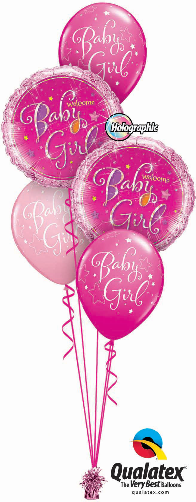 Welcome Baby Girl Classic
